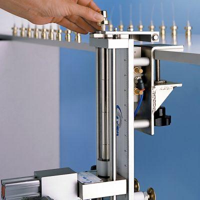 Dip tube cutting machine