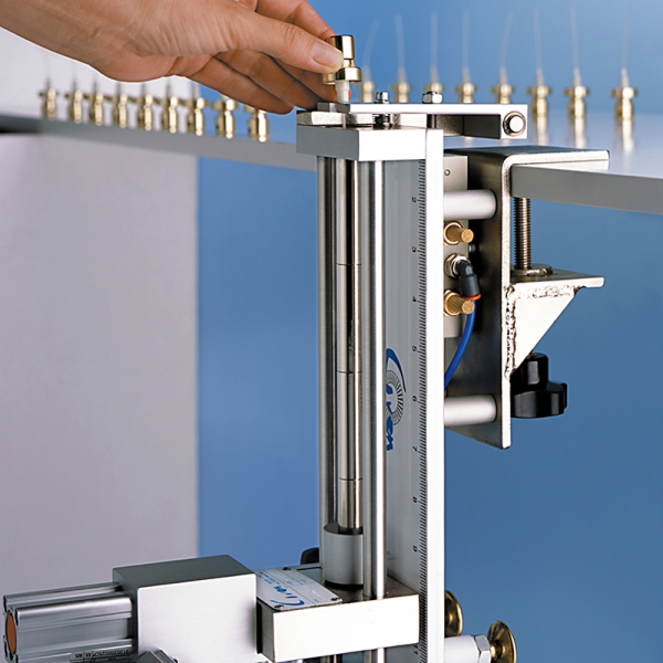 Dip tube cutting machine